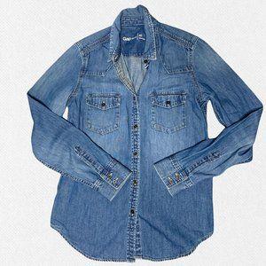 GAP Jean Shirt Size Medium